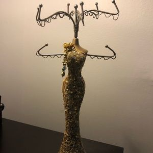 Woman's Silhouette Jewelry Stand